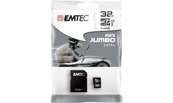 Emtec MicroSD UHS-I 32GB + Adapter