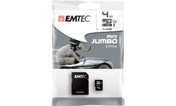 Emtec MicroSD UHS-I 4GB + Adapter