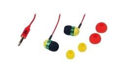 TnB Music Trend Reggae Ohrhoerer Black/Green/Yellow