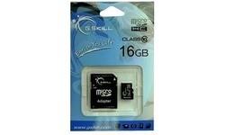G.Skill MicroSDHC Class 10 16GB + Adapter