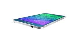 Samsung Galaxy Alpha Blue