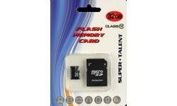 Super Talent MicroSDHC 32GB + Adapter
