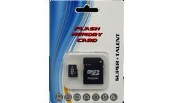 Super Talent MicroSDHC 8GB + Adapter