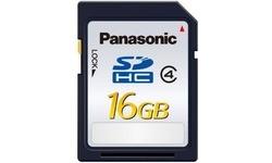 Panasonic Blue SDHC Class 4 16GB