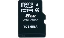 Toshiba MicroSD Class 4 8GB
