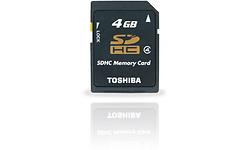 Toshiba SDHC Class 4 4GB