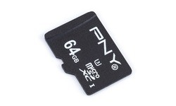 PNY Elite Performance MicroSDXC UHS-I U3 64GB + Adapter