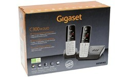 Gigaset C300A Duo Black/Silver
