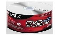 Emtec DVD+R 16x 50pk Spindle