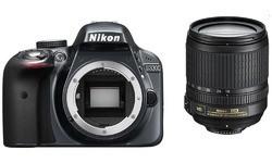 Nikon D3300 18-105 kit Black