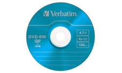 Verbatim DVD-RW 4x 5pk Slim Case