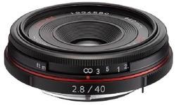 Pentax SMCP DA 40mm f/2.8 ED Black