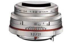 Pentax SMCP DA 21mm f/3.2 AL Silver