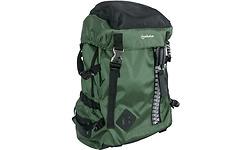 "Manhattan Zippack Backpack Green/Black 15.6"""