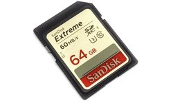 Sandisk Extreme SDXC UHS-I U3 64GB (60MB/s)