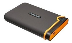 Transcend StoreJet 25M2 500GB Grey/Orange