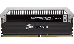 Corsair Dominator Platinum 16GB DDR4-3200 CL16 quad kit