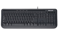 Microsoft Wired Keyboard 600 Black (DE)