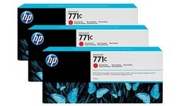 HP 771c Chromatic Red 3-pack