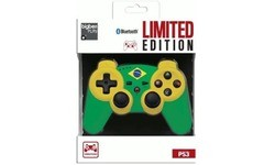 BigBen PS3 Controller Bluetooth Brazil Limited Edition