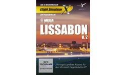 Flight Simulator X Mega Airport Lissabon V2.0 Add-On (PC)