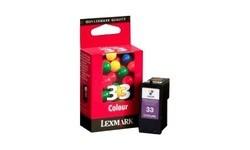 Lexmark 33 Yellow/Cyan/Magenta