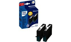 Pelikan E64 Twin Pack Black