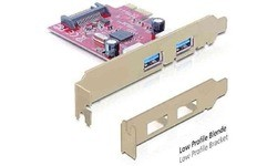 Delock 2-Port USB 3.0 PCI-e Card + Low Profile
