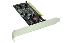 InLine 4-Port SATA PCI Card
