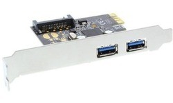 InLine 2-Port USB 3.0 PCI-e Card + SATA
