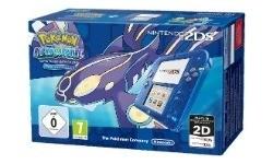 Nintendo 2DS Transparent Blue + Pokémon Alpha Saphir