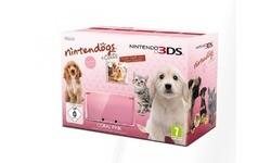 Nintendo 3DS Pink + Nintendogs und Cats Limitierte Edition