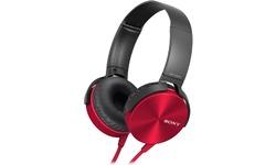 Sony MDR-XB450APR Red