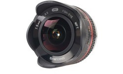 Samyang 7.5mm f/3.5 Fisheye UMC (Micro 4/3) Black