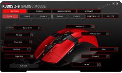 Speedlink Kudos Z-9 Gaming Mouse Red