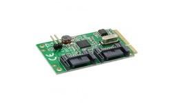 InLine 2-Port SATA 600 Mini PCI-e
