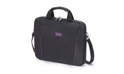 Dicota Slim Case Base Black/Purple 15.6""