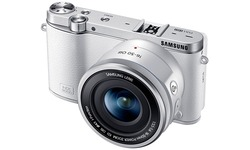 Samsung NX3000 16-50 + 50-200 kit White