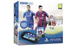 Sony PlayStation Vita + Fifa 15 Voucher + 4GB Black