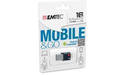 Emtec T200 16GB Silver/Black
