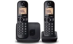Panasonic KX-TGC212 Duo Black