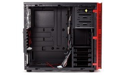 In Win 703 Window Red/Black