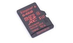 Kingston MicroSDXC UHS-I U3 64GB + Adapter
