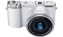 Samsung NX3000 16-50 PZ + SEF-8A kit White