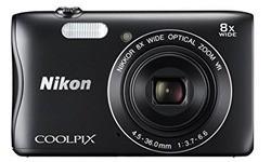 Nikon Coolpix S3700 WiFi HD Black