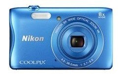 Nikon Coolpix S3700 WiFi HD Blue