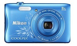 Nikon Coolpix S3700 HD Blue