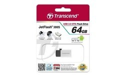 Transcend JetFlash 380 64GB Silver Plating