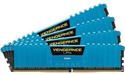 Corsair Vengeance LPX Blue 32GB DDR4-2400 CL14 quad kit