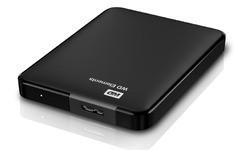 Western Digital Elements Exclusive Portable HDD 1TB Black